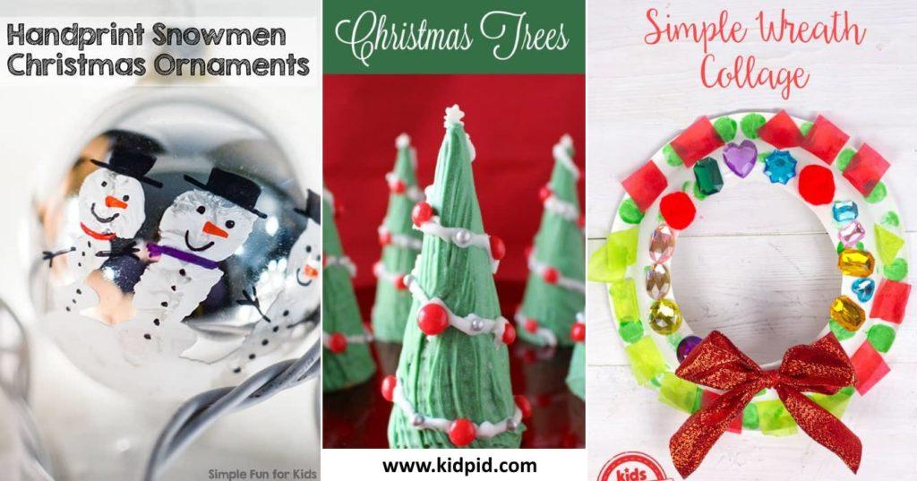Easy Diy Christmas Craft Ideas For Kids Kidpid