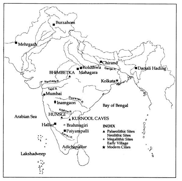Archaeological sites in Indian subcontinent