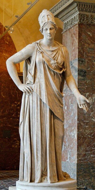 Athena- The Athenian goddess of war