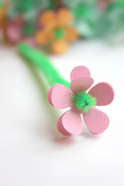 An Aesthetic Solo Flower