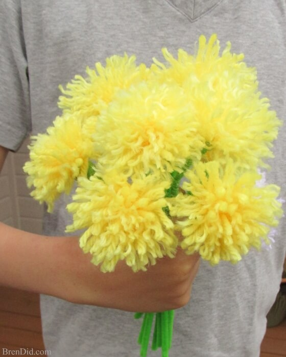 Pipe Cleaner Flowers for Kids Beautiful Flowers Made up of Pipe Cleaner