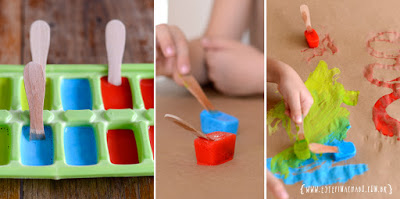 Learn by Playing – DIY Crafts & Activities for Kids Paint Sticks With Ice Cream Sticks