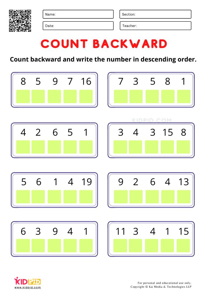 Arranging numbers in descending order