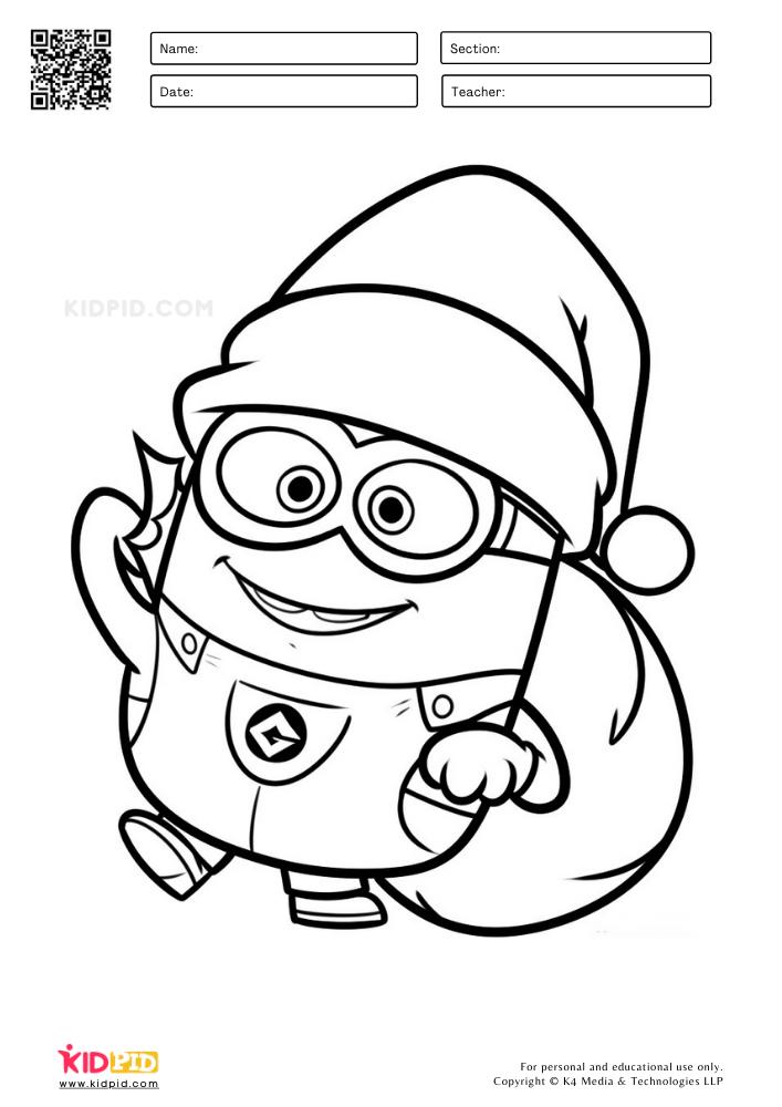 Santa Claus minion