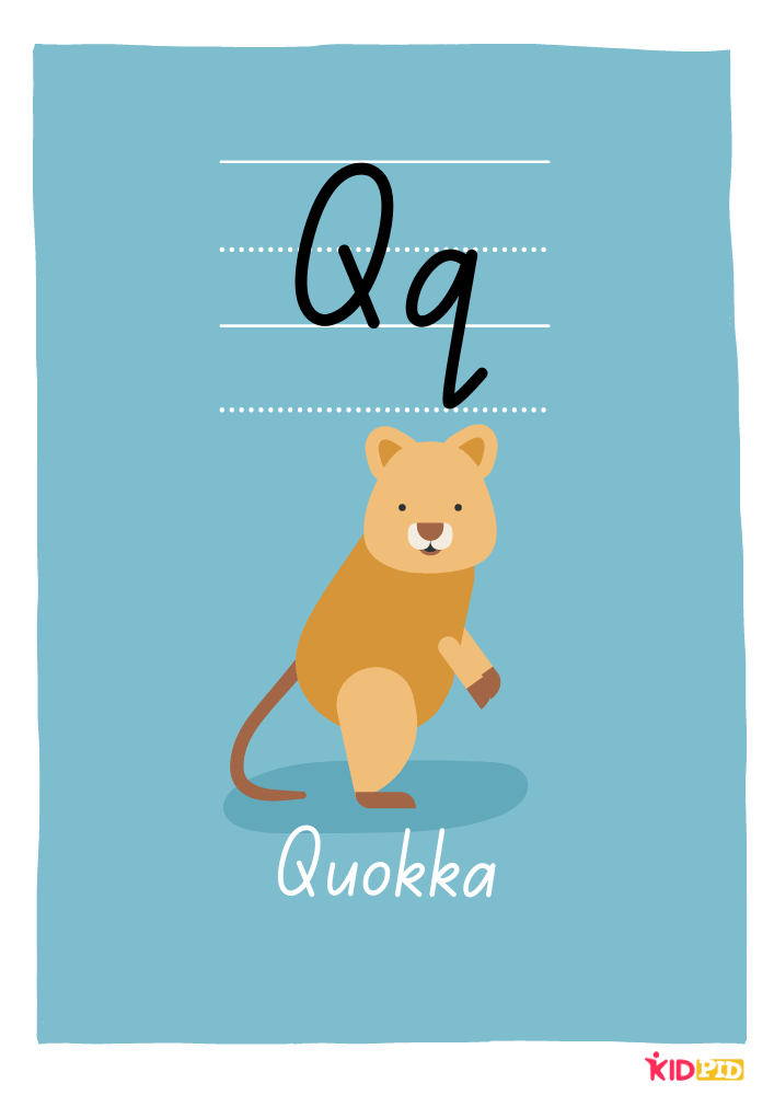 Large Alphabet Posters for Classroom