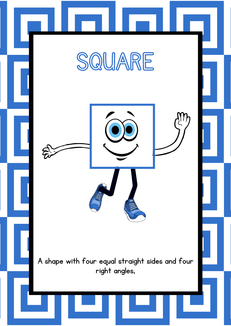 Shape Posters for Classroom - Free Printables